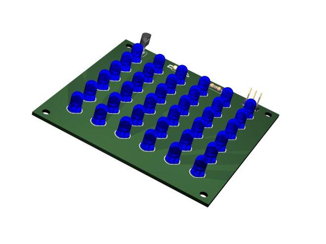 LED Matrix 6x6